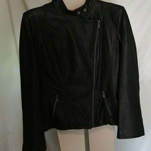 Jones New York ladies leather jacket